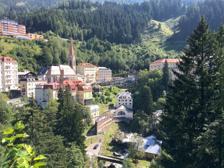 Wandern in Bad Gastein am Wasserfallweg