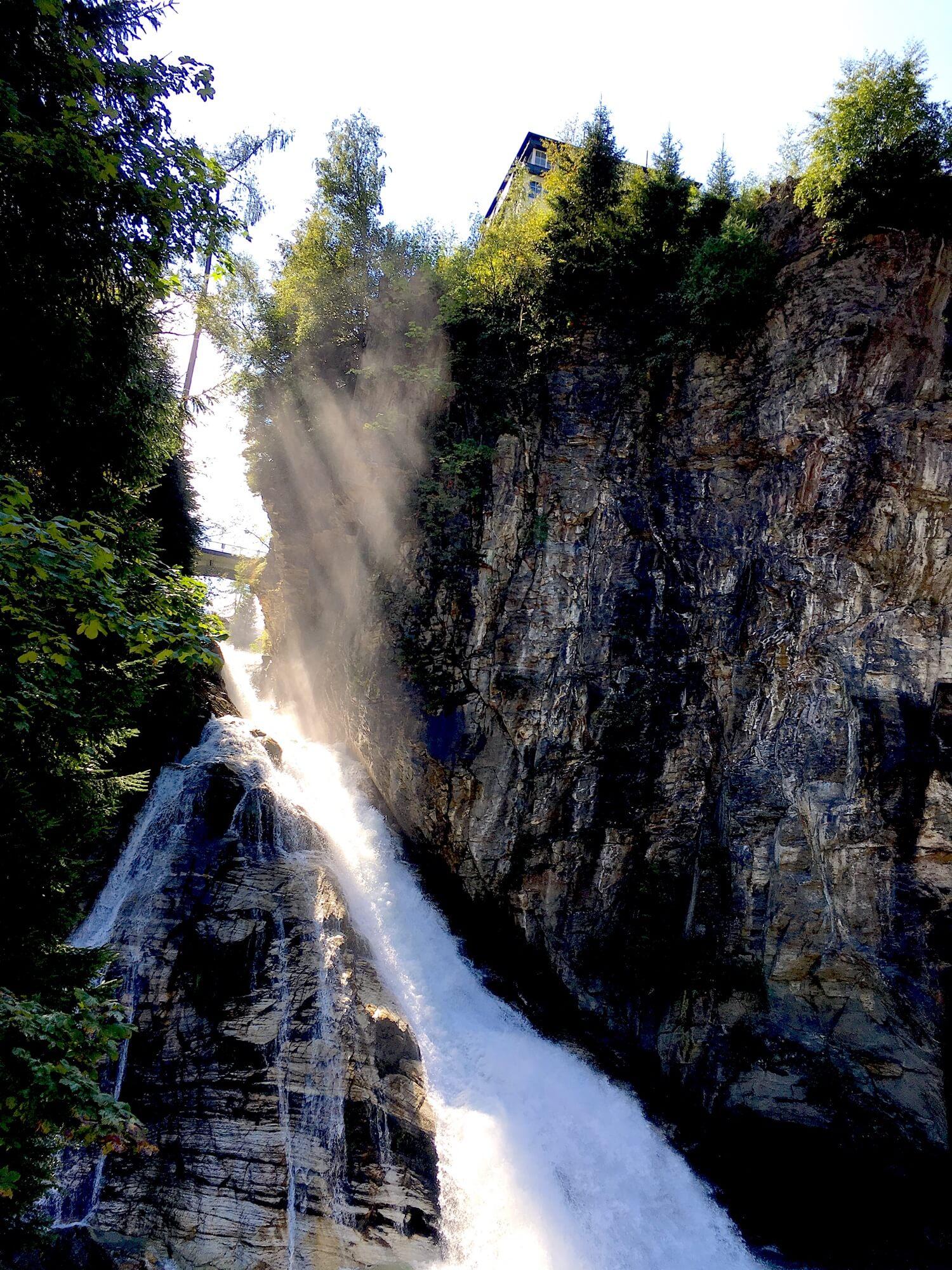 Wasserfall Rundwanderung in Bad Gastein