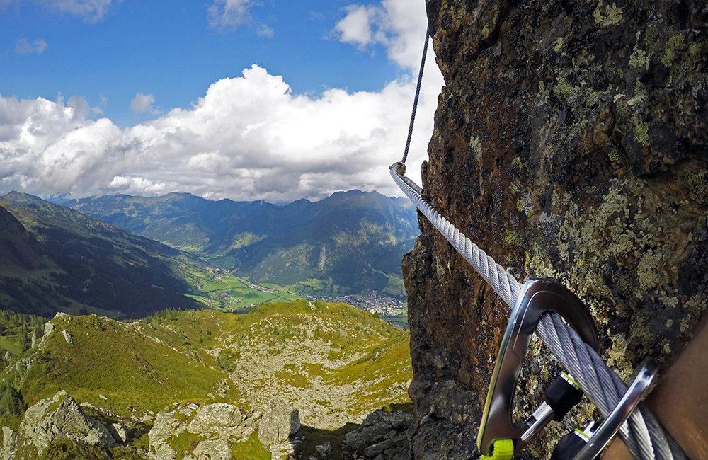 Klettersteig Oostenrijk : Höhenluft in gastein auf den klettersteigen der schlossalm