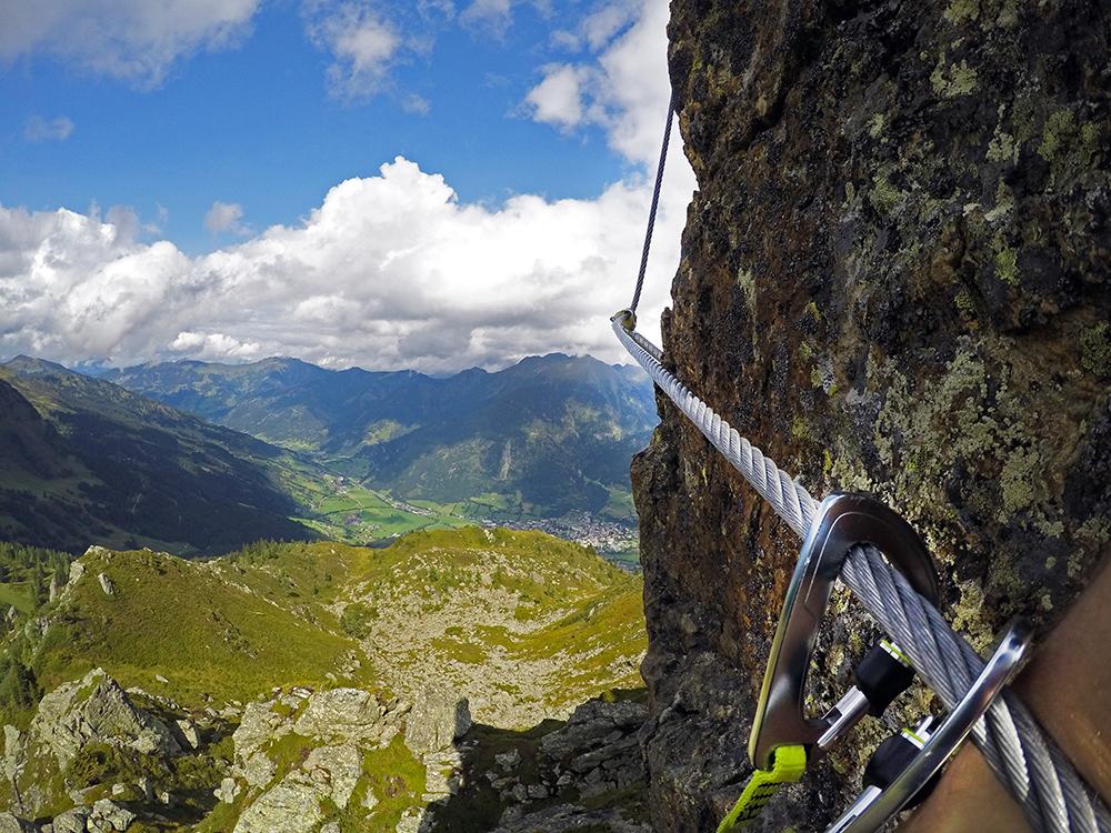 Klettersteig im Gasteinertal