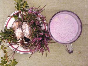 Buttermilch mit Schwarzbeeren: Kulinarik Gastein