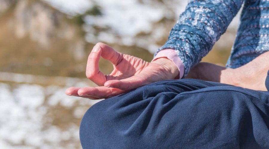Yoga am Berg in Gastein