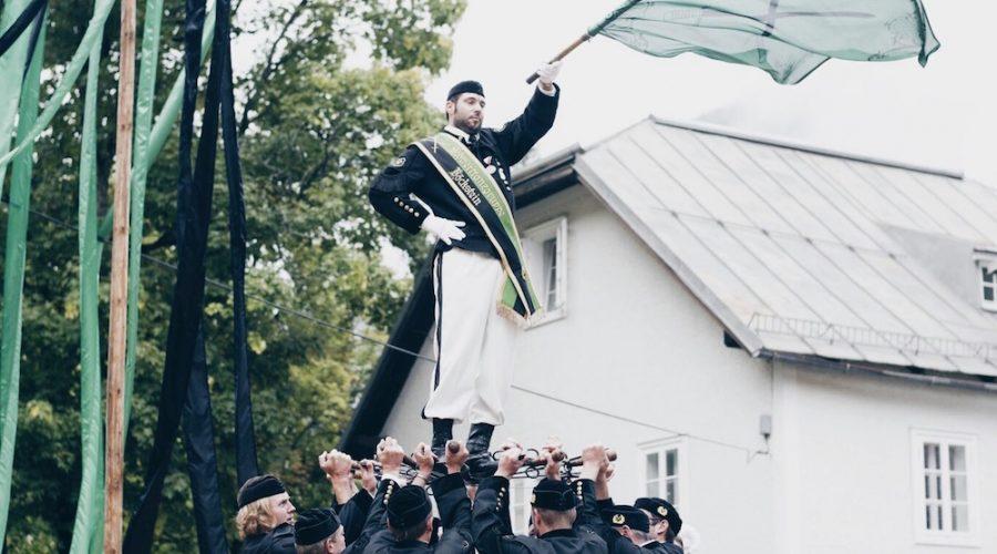 Tradition in Gastein beim Schwerttanz Böckstein