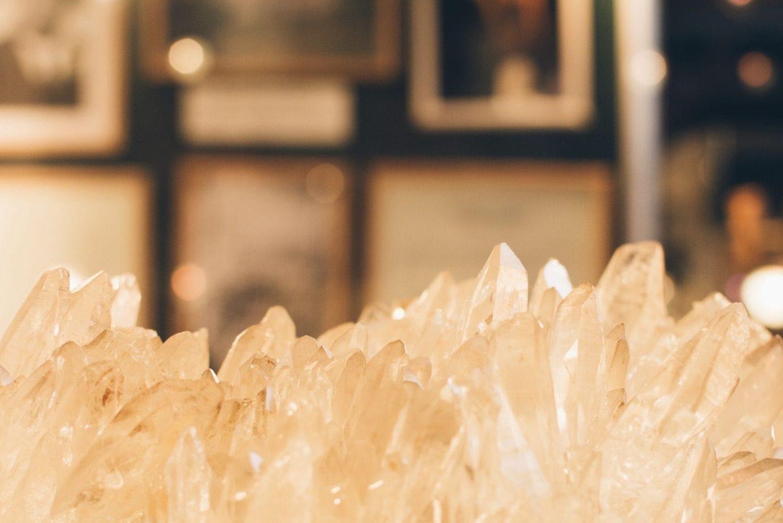 Bergkristalle im Montanmuseum Altböckstein bei Gastein