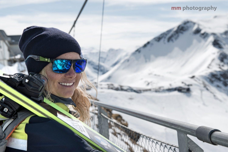 Sandra Lahnsteiner in den Gasteiner Bergen