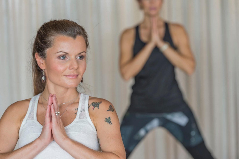 Yoga Schüler bei den Yogatagen in Gastein