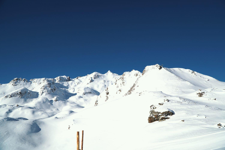 Blick auf die Hohe Scharte im Skigebiet Schlossalm-Angertal-Stubnerkogel