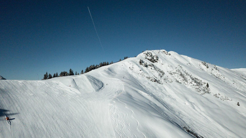 Wunderbarer Sonnentag im Skigebiet Dorfgastein