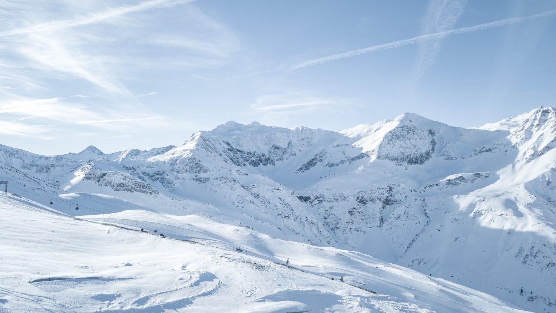 Die herrliche Bergwelt um Sportgastein.