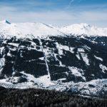 Blick auf Bad Gastein von der Bergstation des Graukogels