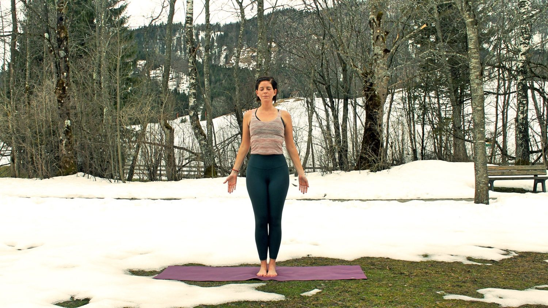 Frühjahrs-Yoga, Gastein, Foto: Kristina Erhard