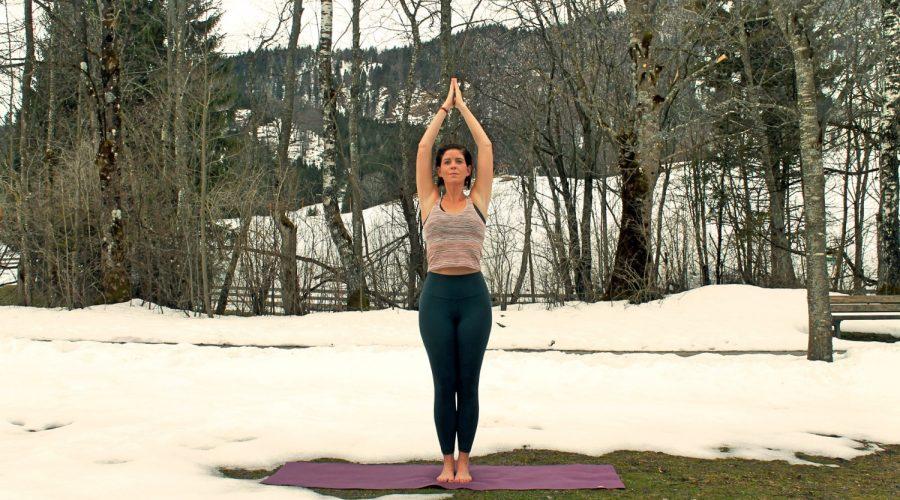 Yoga in Gastein, Foto: Kristina Erhard