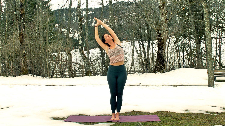 Yogaübungen in Badhofgastein, Foto: Kristina Erhard