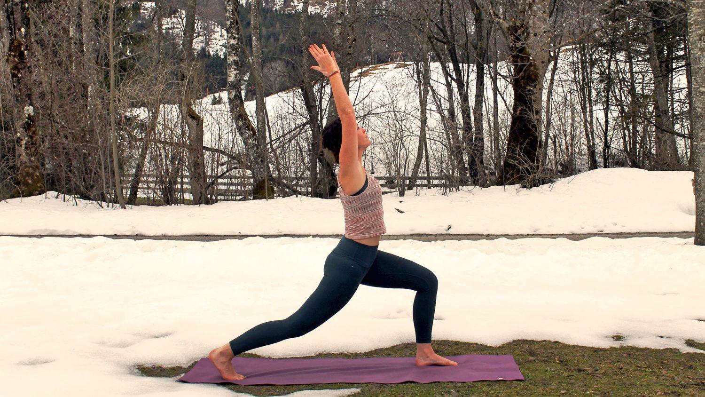 Yoga im Frühling, Foto: Kristina Erhard