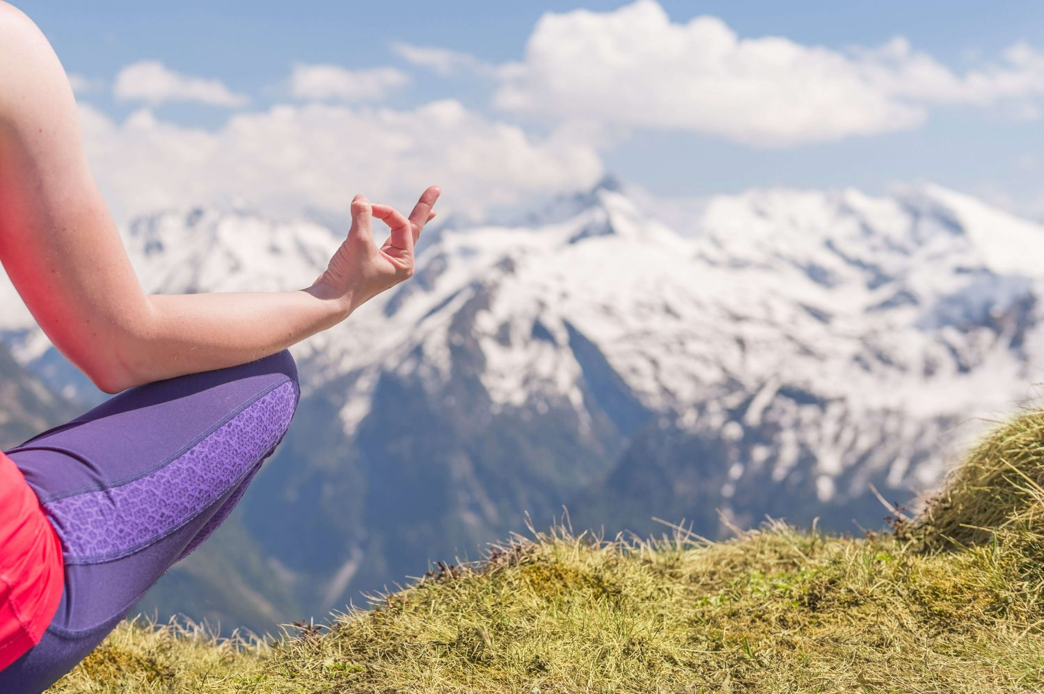 Yoga am Stubnerkogel in Gastein