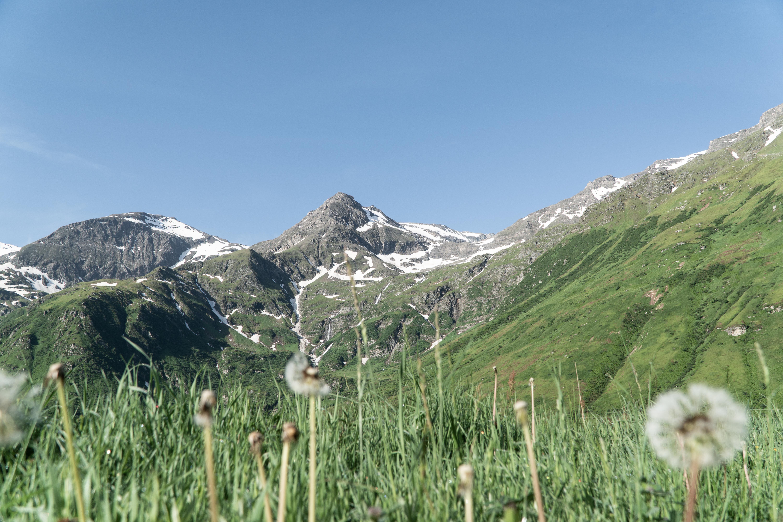 Bergwelt im Nassfed in Gastein