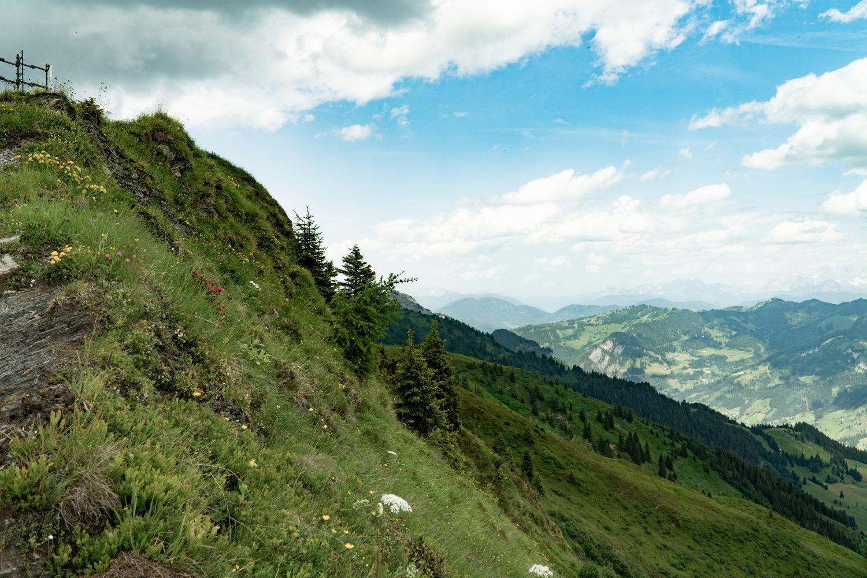 Panorama auf das Gasteinertal vom Fulseck in Dorfgastein