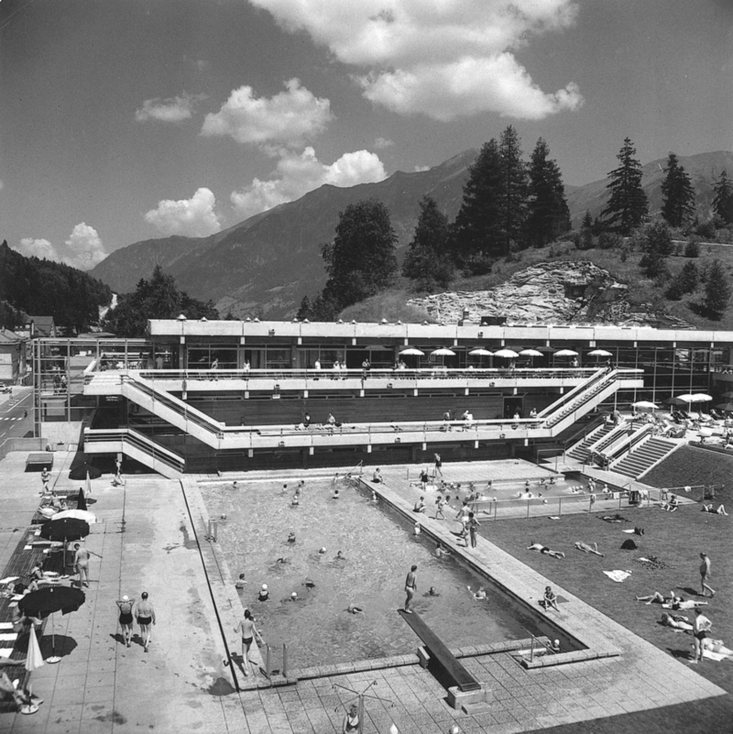 Felsentherme Bad Gastein 1968