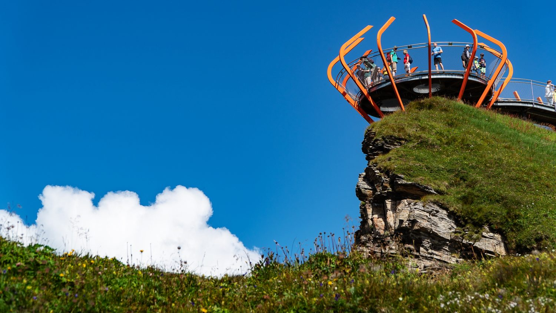 Aussichtsplattform auf dem Stubnerkogel