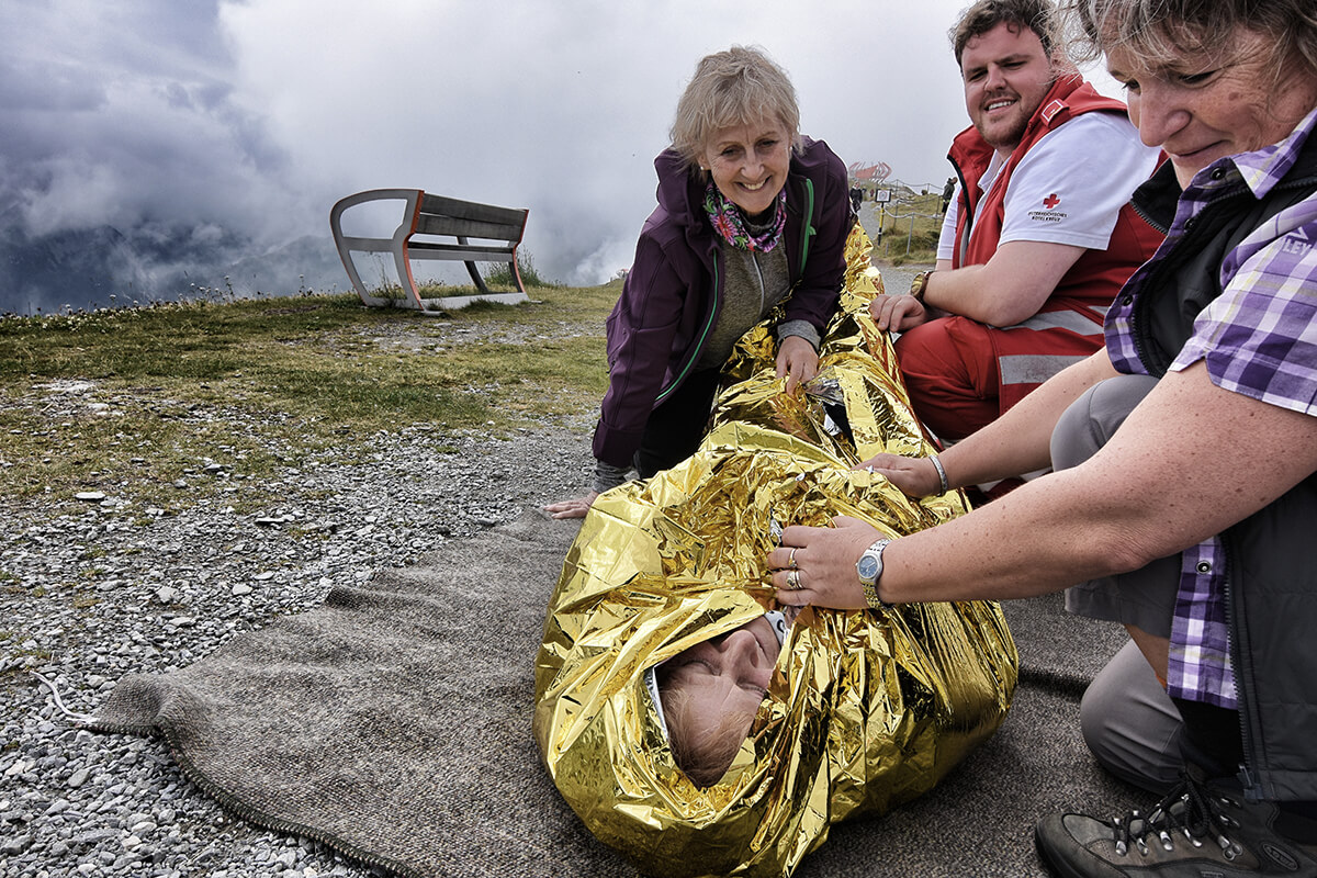 Erste Hilfe am Berg
