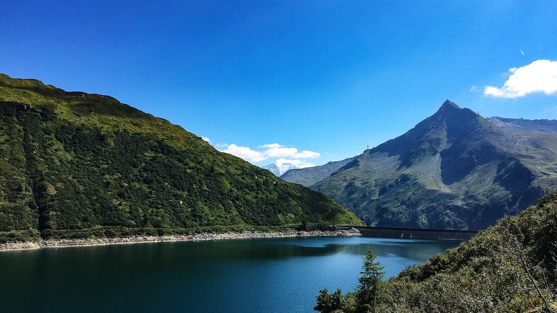 Blick auf den unteren Bockhartsee