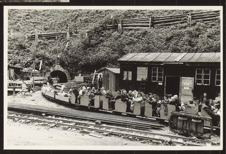 Historische Einfahrten im Jahr 1953