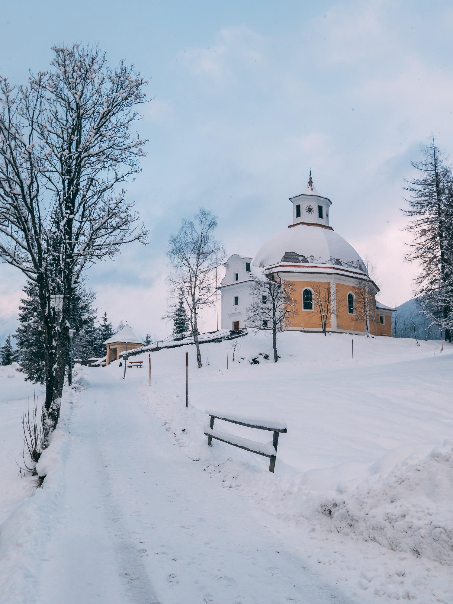 Wahlfahrtskirche in Böckstein