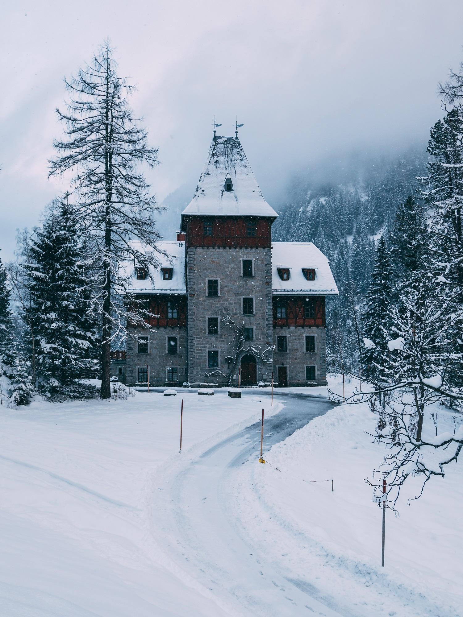 ein Jagdschloss in Böckstein