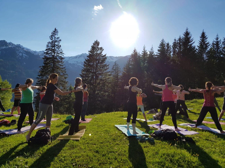 Yoga beim Annencafé