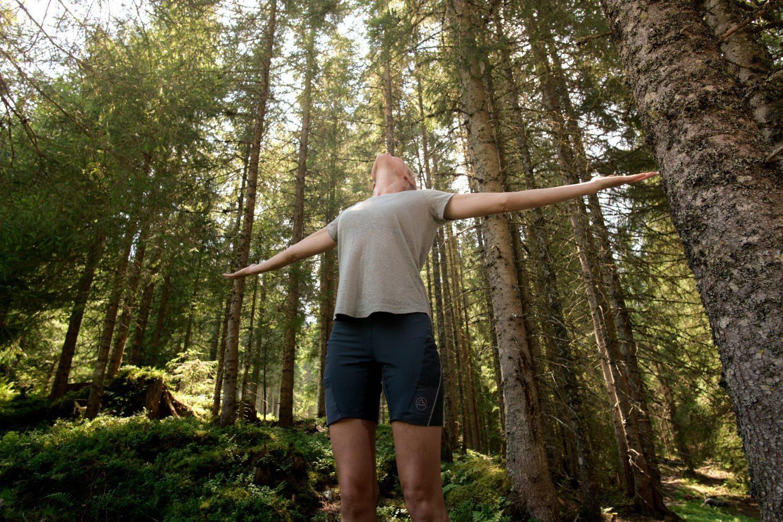 Waldbaden im Angertal