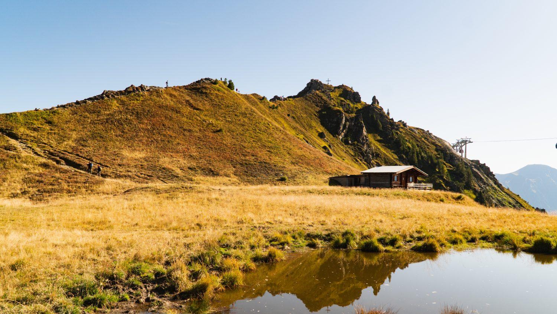 Die Hirschkarspitze auf der Schlossalm in Gastein