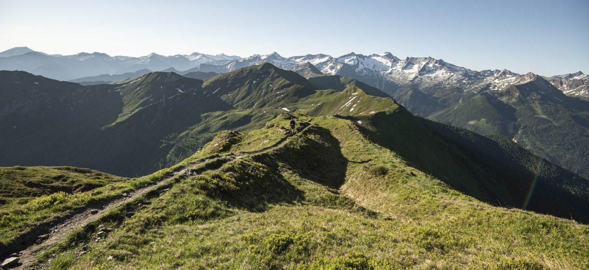 die Berglandschaft des Gasteinertales