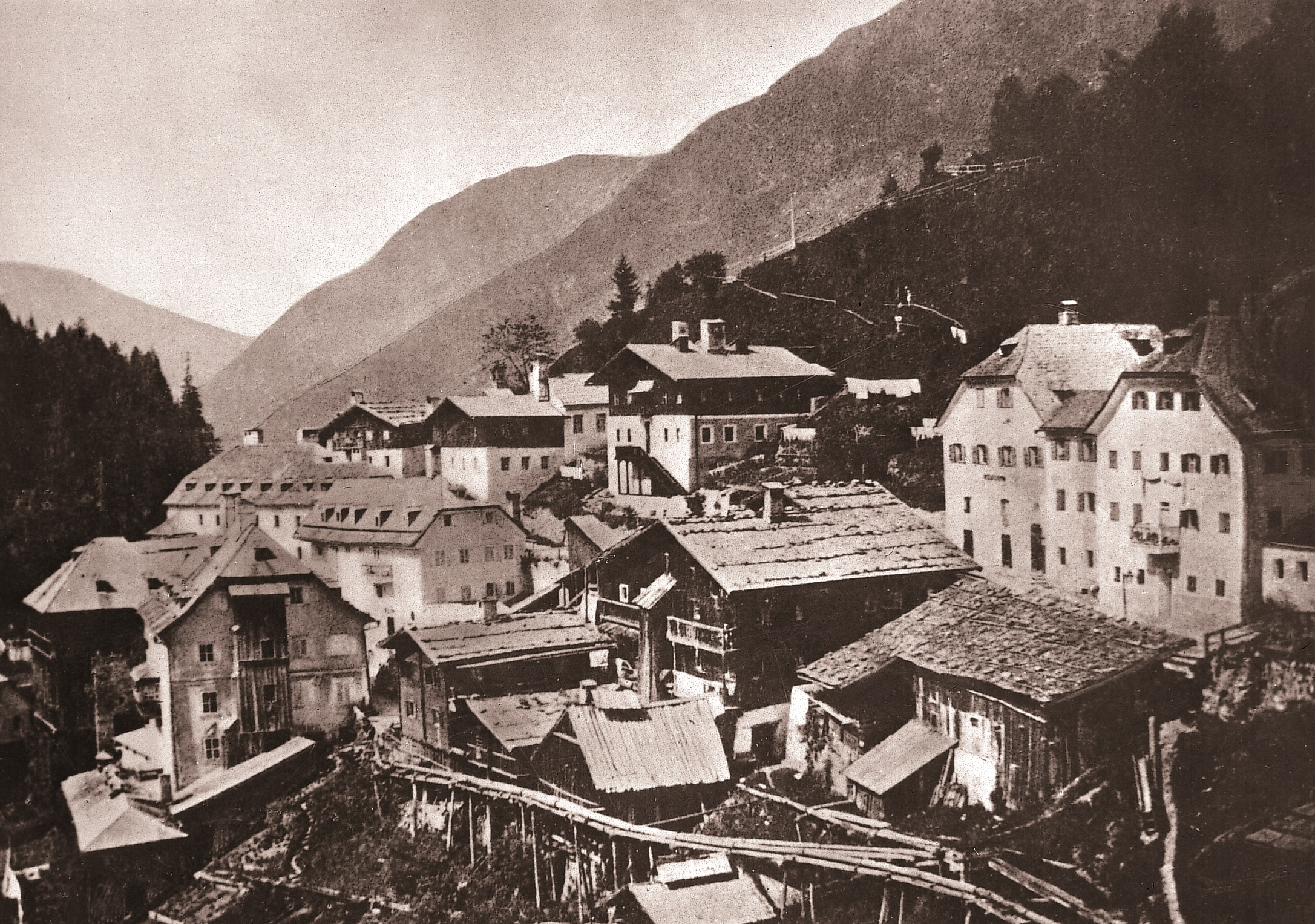 Thermalwasserleitungen in Bad Gastein
