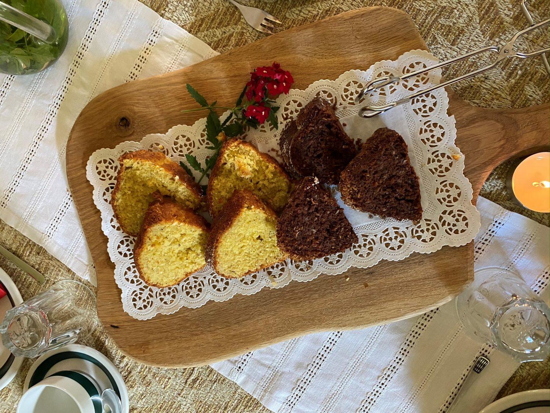 Kuchen und Kaffee beim Zittrauerhof