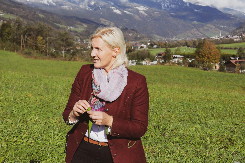 Heidi Huber, Kulinarische Hofwanderung