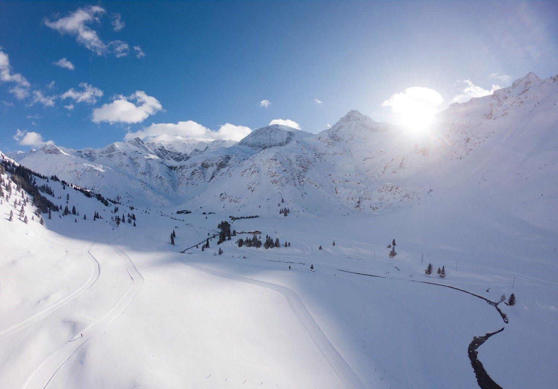 Winterlandschaft in Sportgastein