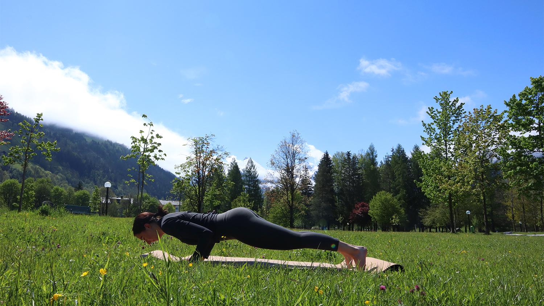 Asana Brett Yogafrühling Gastein