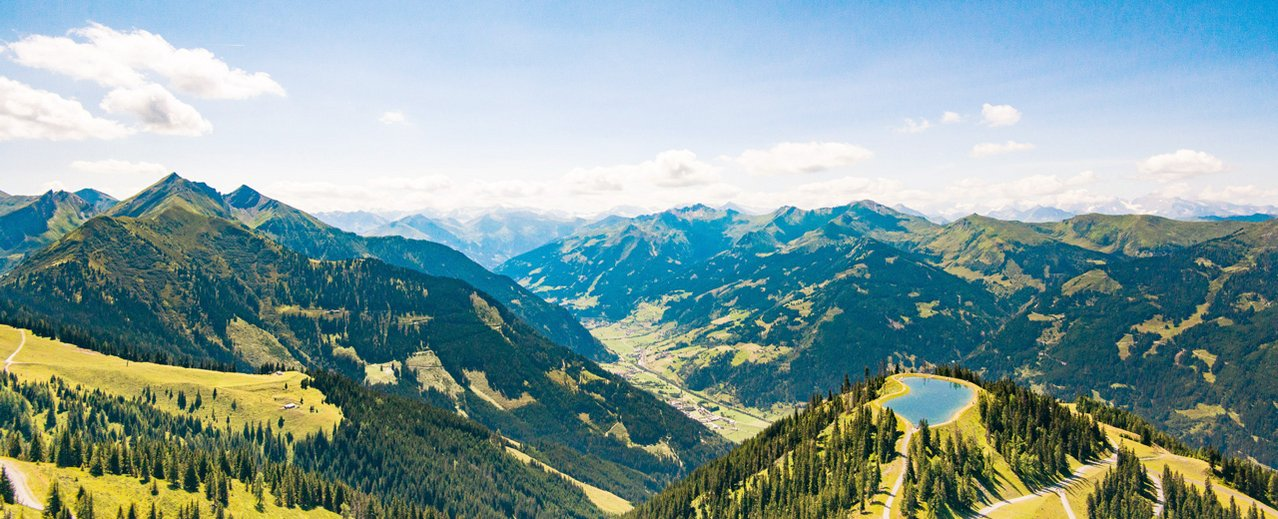 Bergpanorama Dorfgastein