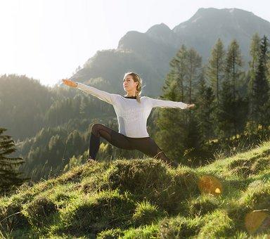 Auszeit beim Yogaherbst