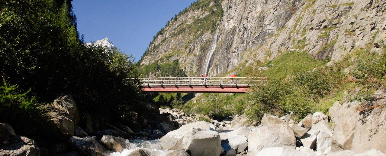 Radweg in den Gasteiner Bergen