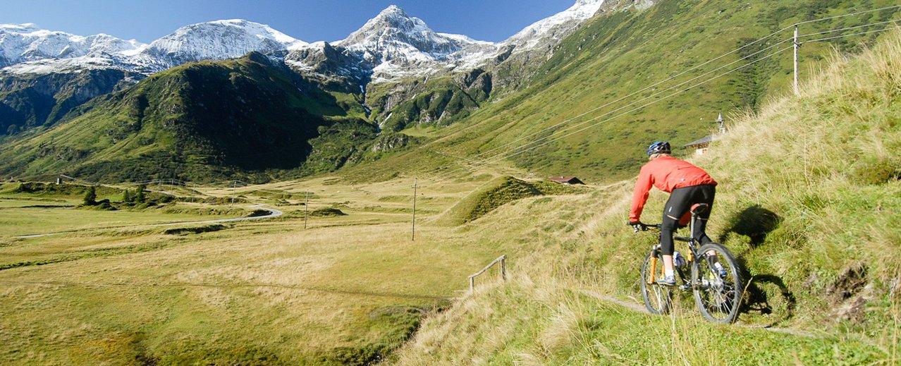 Mountainbiker in den Gasteiner Bergen