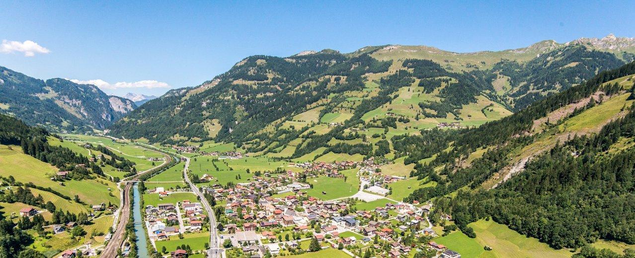 Panoramablick über Dorfgastein