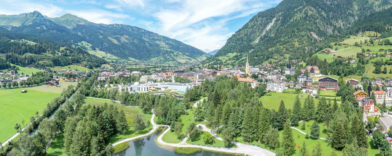 Panoramablick über Bad Hofgastein