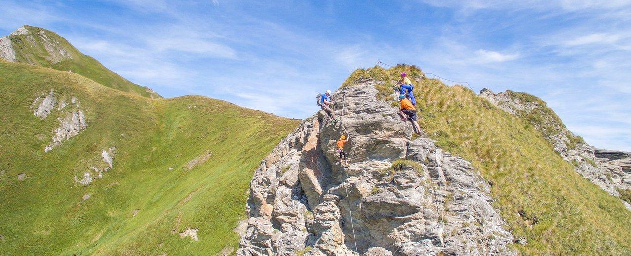Klettersteig auf der Schlossalm in Bad Hofgastein