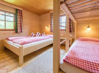 Gigerach Hütte Gastein Almliesl Schlafzimmer 3