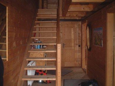 Kematenhütte Löprick Gastein Treppe unten