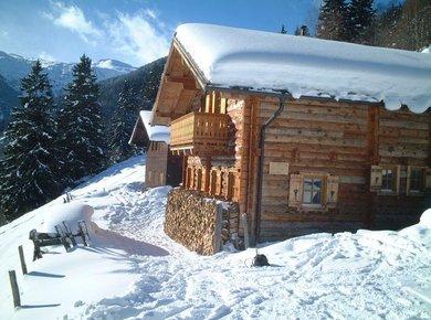 Kematenhütte Löprick Gastein Winter 2