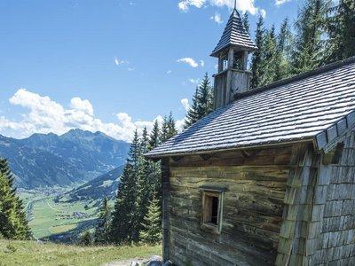 Aussicht Drei Waller Kapelle