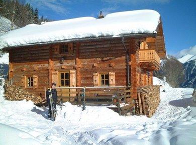 Kematenhütte Löprick Gastein Winter 1