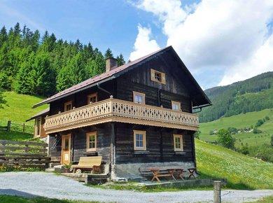 Gigerach Hütte Gastein Almliesl Sommer